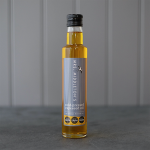 Mrs. Middleton's | Cold-Pressed Rapeseed Oil | 250ml