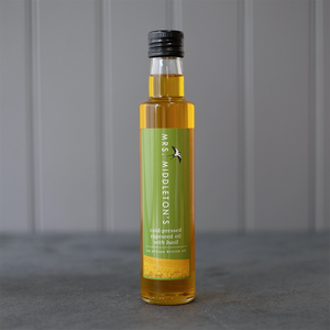 Mrs. Middleton's | Cold-Pressed Flavoured Rapeseed Oil | Basil | 250ml