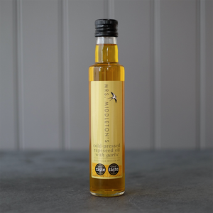 Mrs. Middleton's | Cold-Pressed Flavoured Rapeseed Oil | Garlic| 250ml