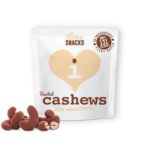 iLove Snacks | Cashews Cacao Vanilla Sea Salt | 22g