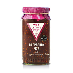 Cottage Delight | Raspberry Fizz Jam | 340g