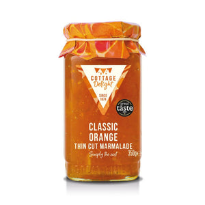 Cottage Delight | Classic Orange Thin Cut Marmalade | 350g