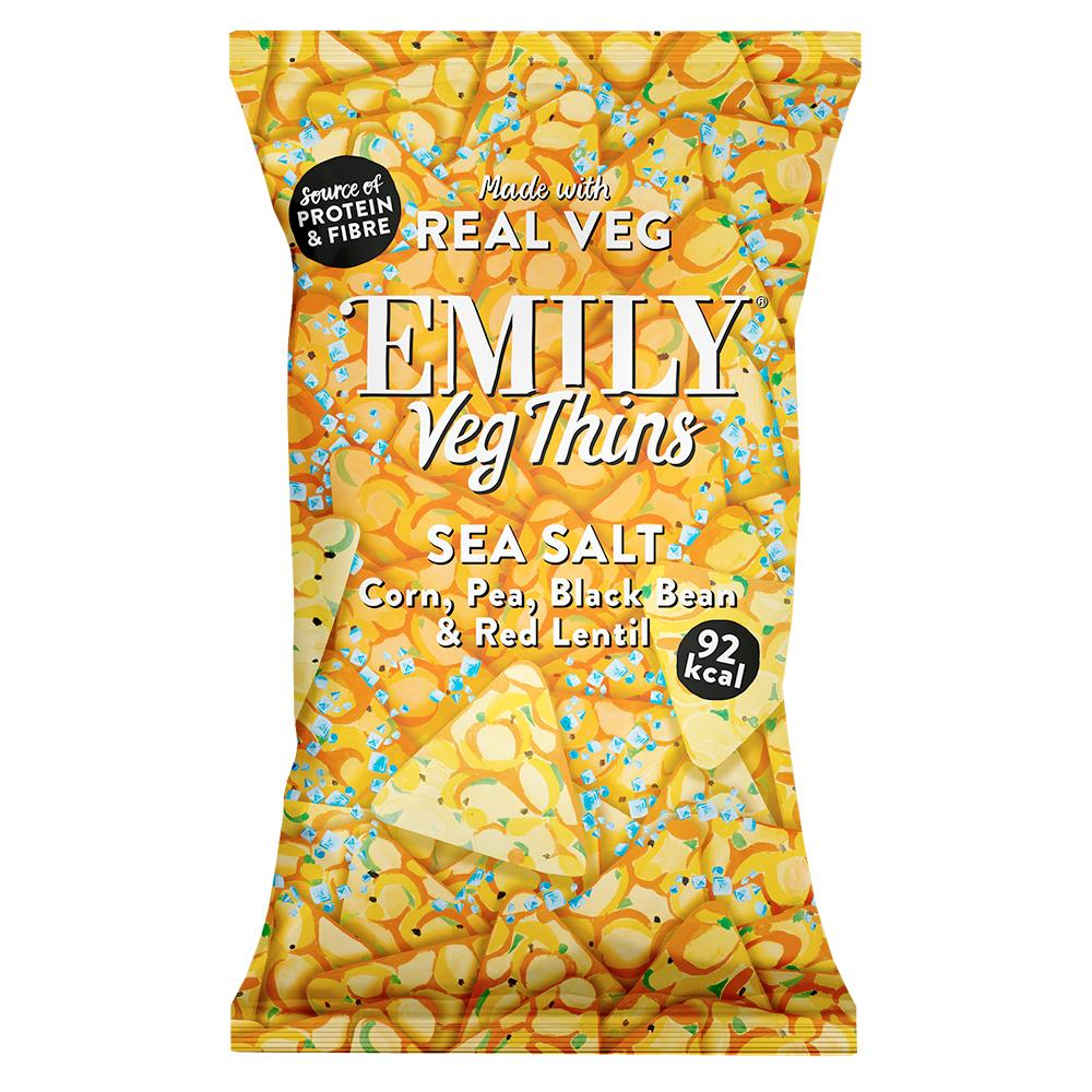 Emily | Simply Salted Veg Thins | 23g