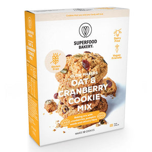 Superfood Bakery | Glow Makers Oat & Cranberry Cookie mix | 265g
