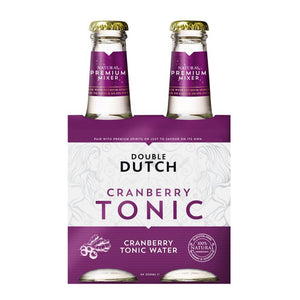 Double Dutch | Cranberry & Ginger | 4 x 200ml