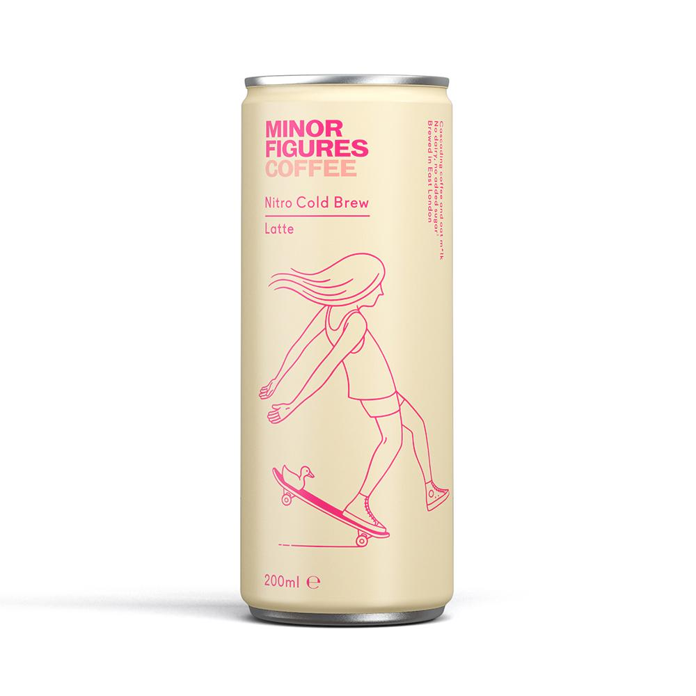 Minor Figures | Nitro Cold Brew | Latte | 200ml