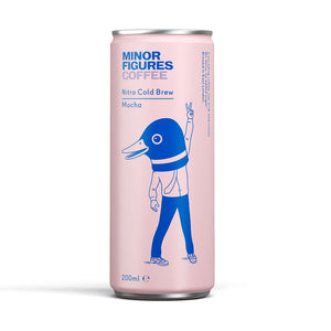 Minor Figures | Nitro Cold Brew | Mocha | 200ml