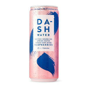 Dash Water | Sparkling Water infused with wonky Raspberry | 330ml