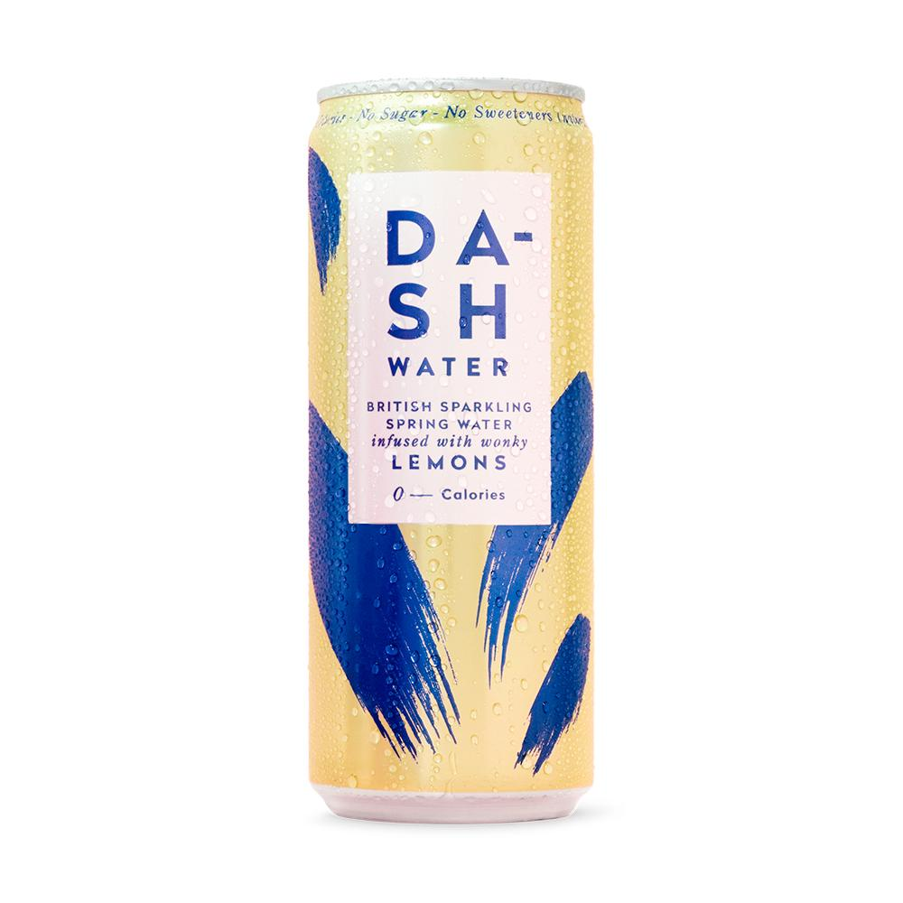 Dash Water | Sparkling Water infused with wonky Lemon | 330ml