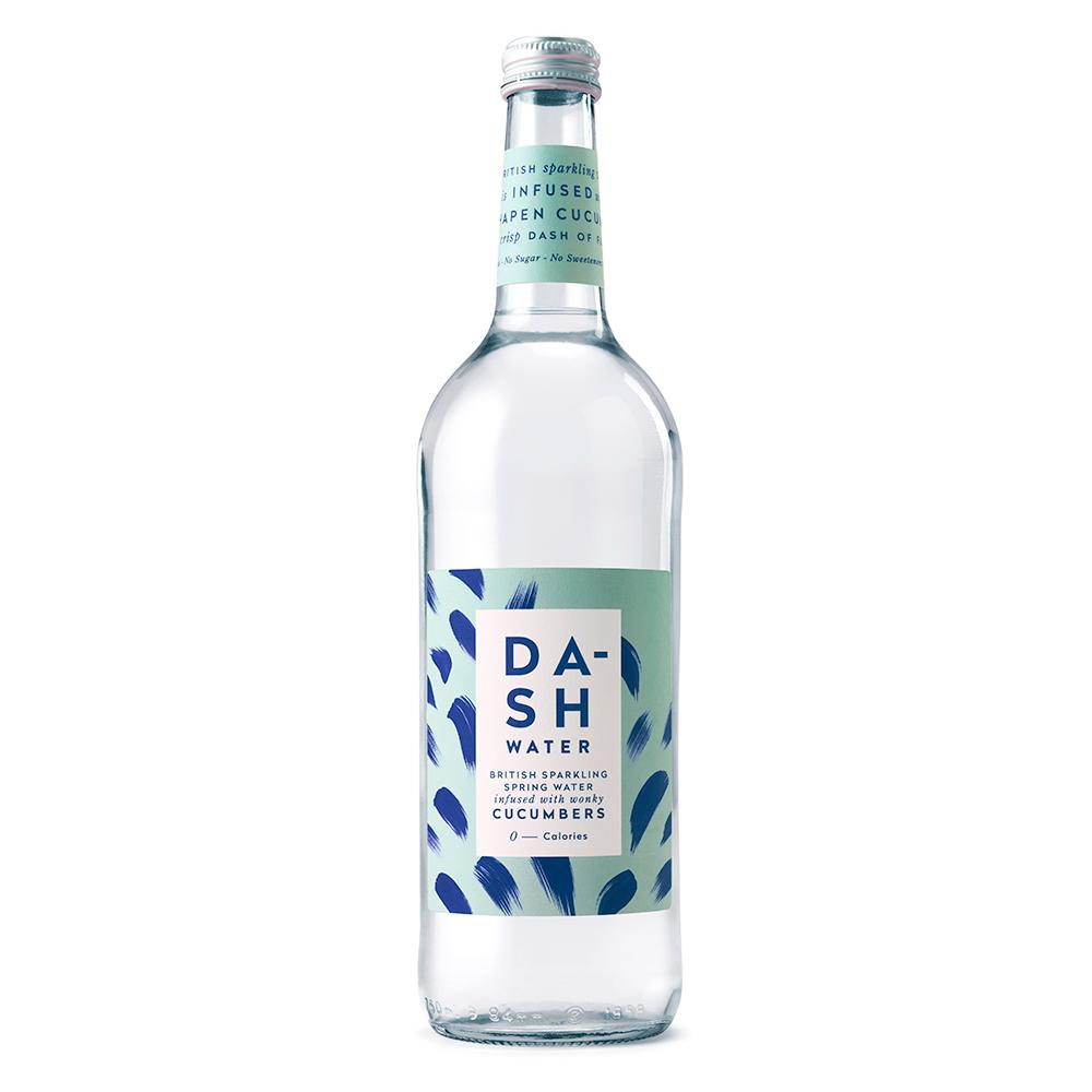 Dash Water | Sparkling Water infused with wonky Cucumber | 750ml