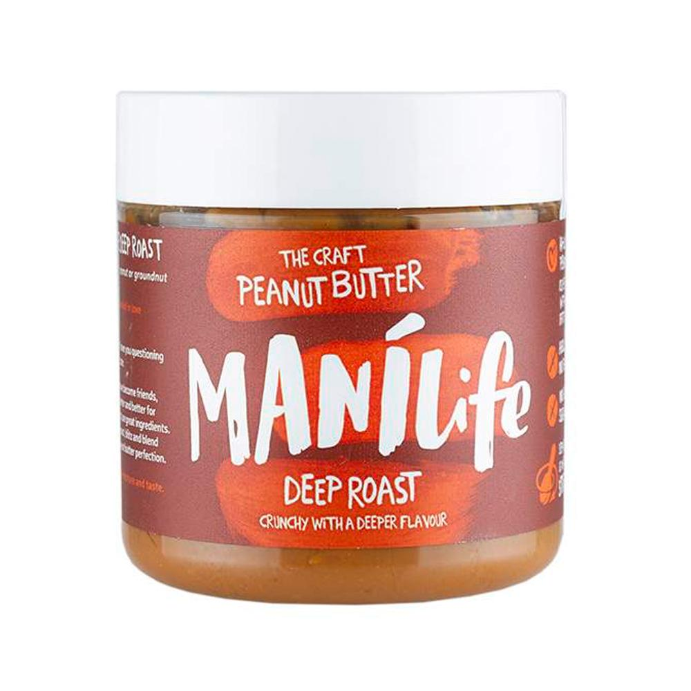 ManiLife | The Craft Peanut Butter | Deep Roast Crunch | 295g