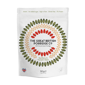 The Great British Porridge Co. | Red Berry & Pumpkin Seed | 385g