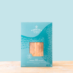 Charlie's Trout | Kiln Smoked Trout Fillets | 125g