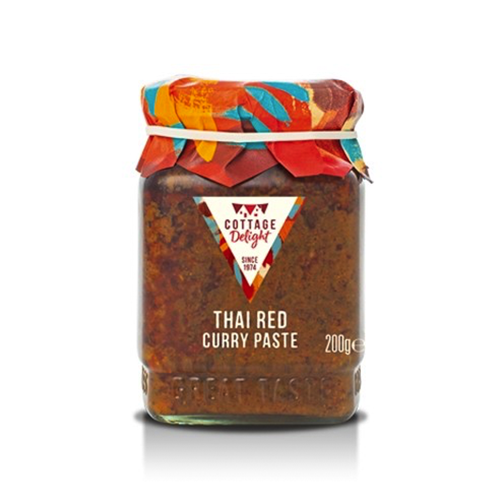 Cottage Delight | Thai Red Curry Paste| 200g