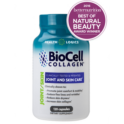 Health Logics BioCell Collagen Wins Better Nutrition's 2016 Best of Natural Beauty Award