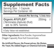 AyuFlex® Vegetarian Joint Support 60 Capsules