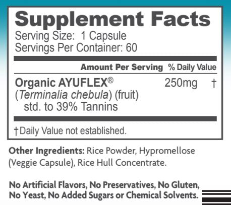 AyuFlex Vegan Joint Support Supplement 60 Capsules