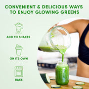 Glowing Greens- Superfood Collagen Powder