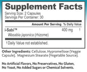 i-Sabi Wasabi Supplement 60 Capsules