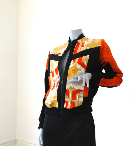 Obi Jacket 34 in orange (  from limited edition range )