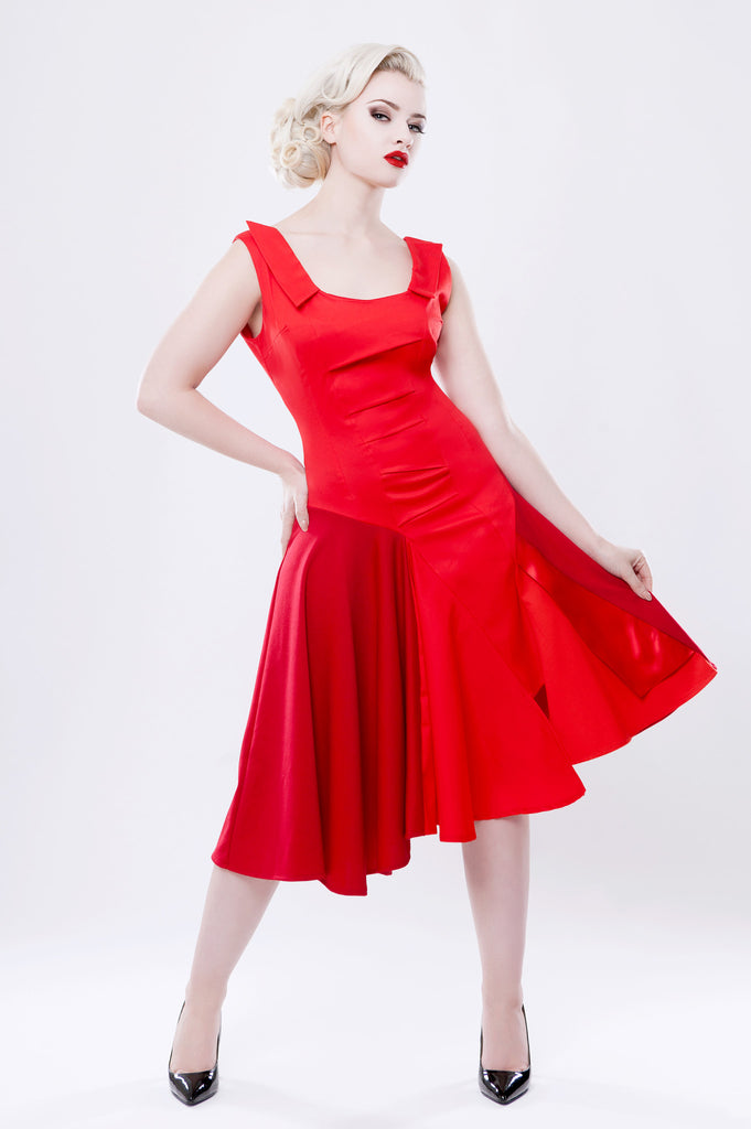 Red Mirra Dress
