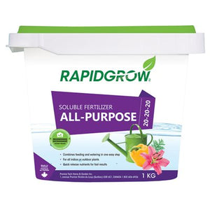 Engrais soluble RAPIDGROW Tout usage 20-20-20