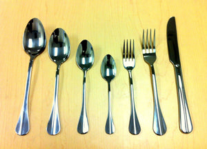 SS CUTLERY: DINNER SPOON/ FORK/KNIFE, DESSERT SPOON/FORK