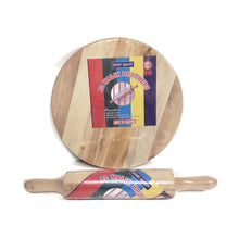Load image into Gallery viewer, WOODEN CHAKALA & BAILNA (ROLLING PIN & BOARD)