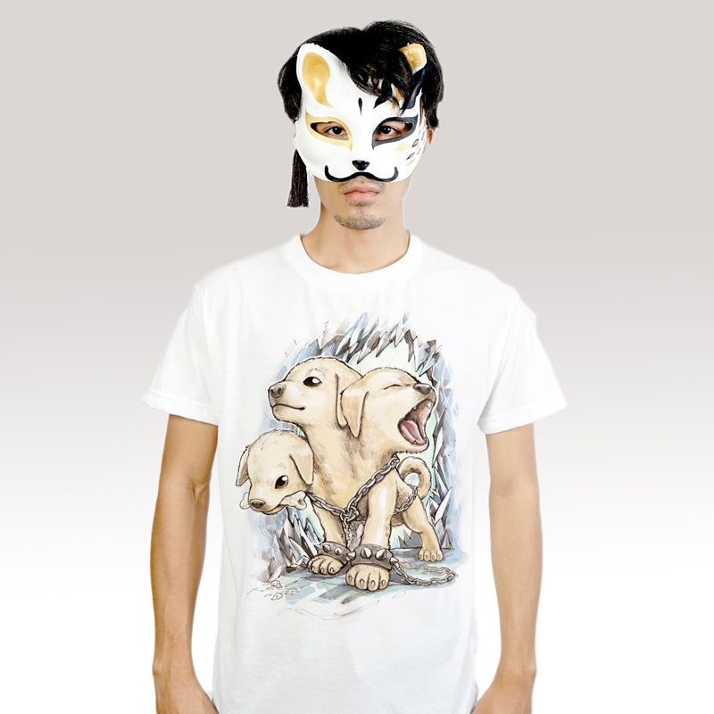 Kerberos Junior - T-Shirt (Unisex) - Unikat, Unique, Einige, Cool, Manga Comic Style Design
