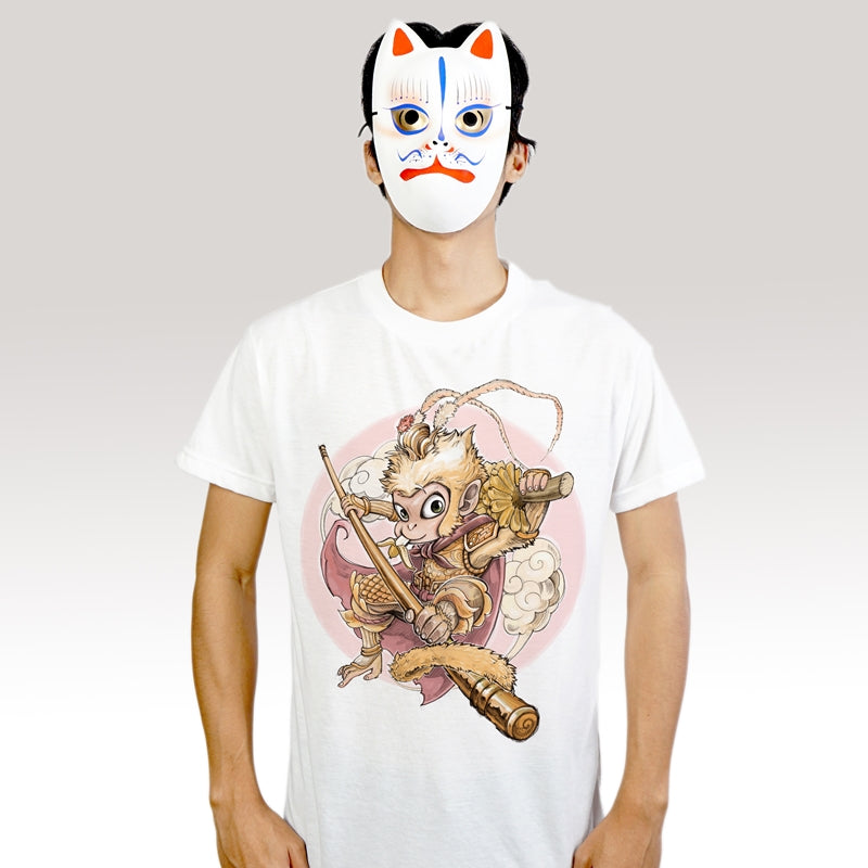 Wukong Junior - T-Shirt (Unisex) - Unikat, Unique, Einige, Cool, Manga Comic Style Design