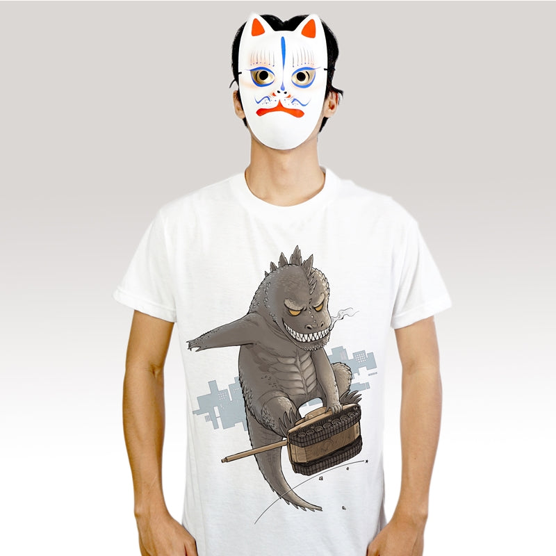 Godzilla Skatet - T-Shirt (Unisex) - Unikat, Unique, Einige, Cool, Manga Comic Style Design