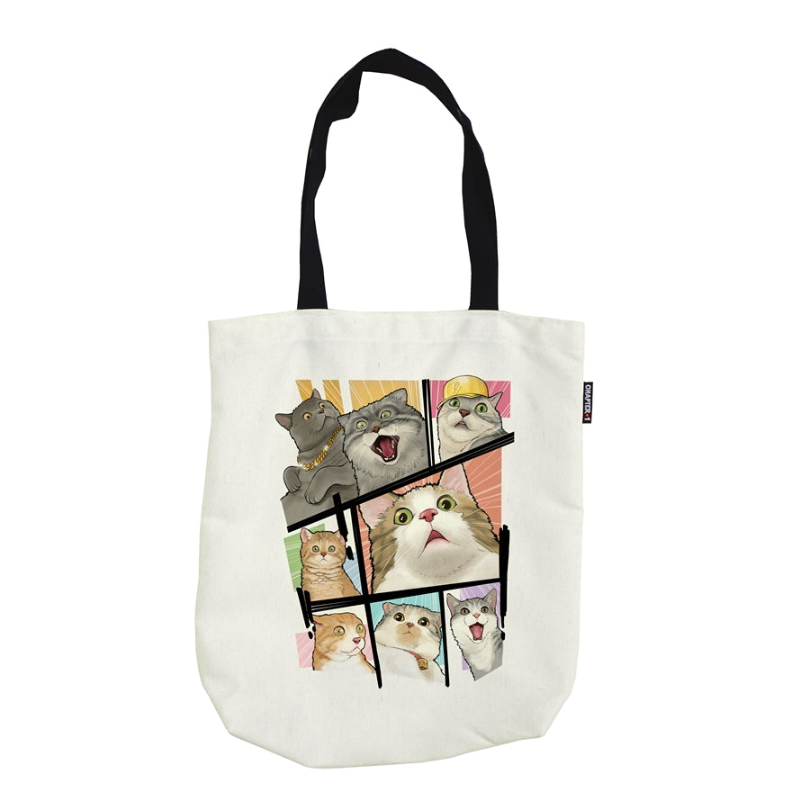 Tote Bag - OMG Cat! - Unikat, Unique, Einige, Cool, Manga Comic Style Design
