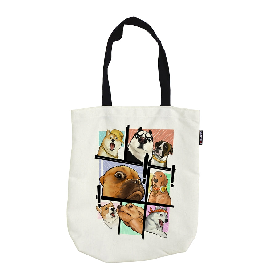 Tote Bag - OMG Dog! - Unikat, Unique, Einige, Cool, Manga Comic Style Design