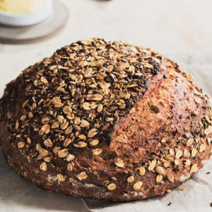 Bread, Three-Seed Round Loaf