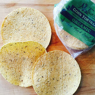 Tortillas, 12-pack - Organic, Local