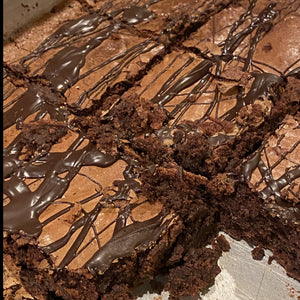 Gluten Free Triple Chocolate Brownies