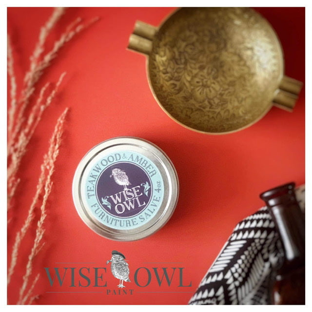 Wise Owl Furniture Salve - Teakwood & Amber
