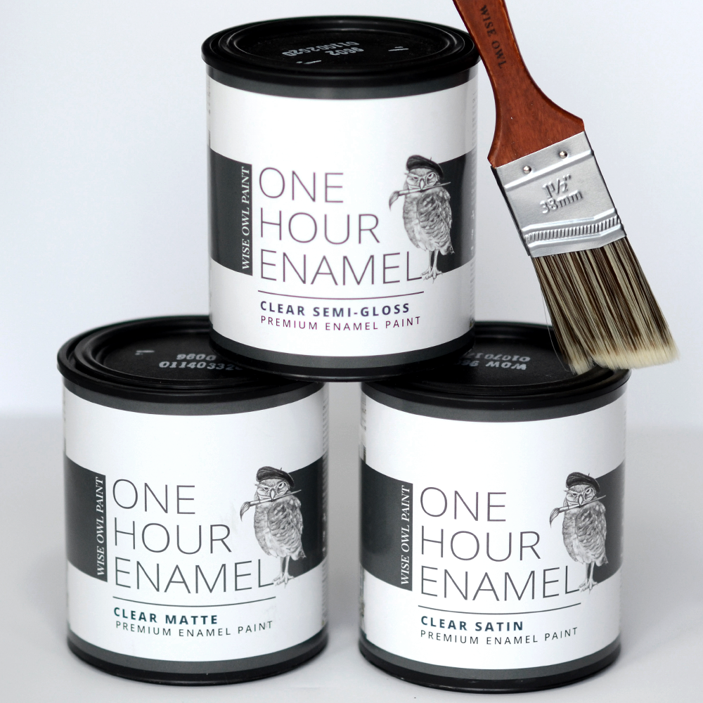 One Hour Enamel Topcoat - Clear Semi Gloss