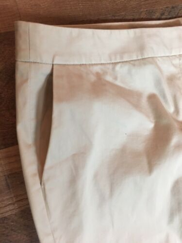 Alfani Essentials Women's Size 14 Khaki Capri Pants With Pockets