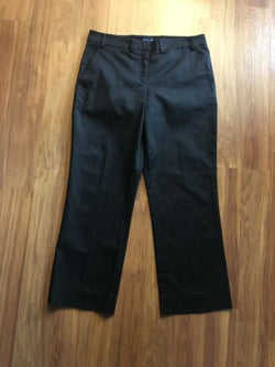 Tailor New York Women's Size 10 Black Pants W/ Pockets