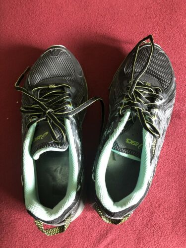 Asics Gel Venture Trail Running Shoes Trainers TTG6N Sz 7