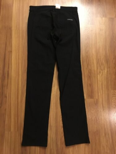 NEW Calvin Klein Jeans Women's Sz 8 Black Pants NWT