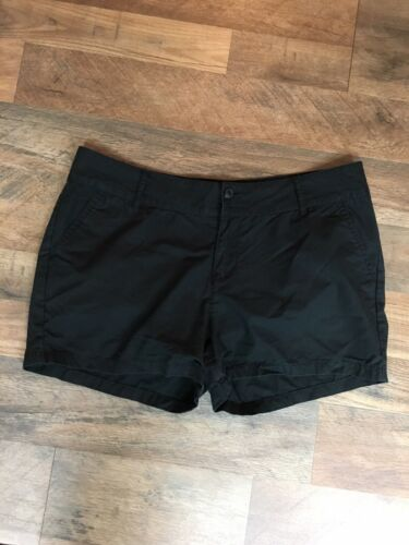 Lucky Brand Women's Size 14/32 Black Shorts With Pockets, Zipper Button Closure