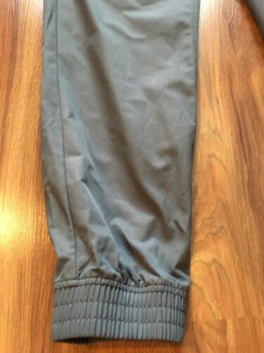 Nike Men's Size XL Grey Swooshy Pants W/ Pockets Elastic Waist/ankles Drawstring