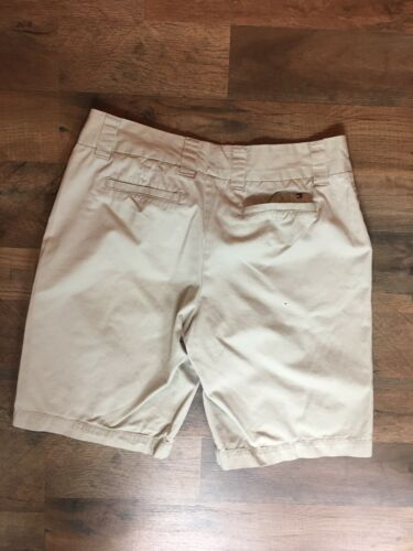 Tommy Hilfiger Women's Size 8 Beige Khaki Shorts With Pockets