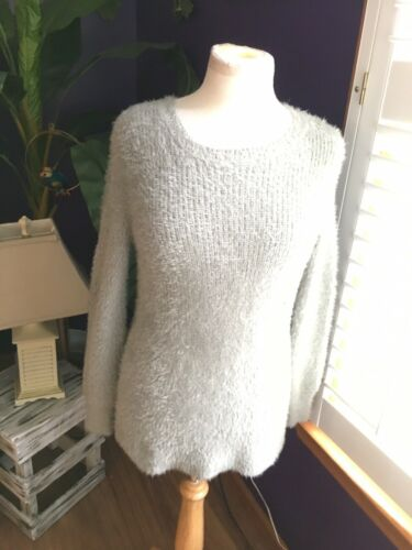 Harper Lane Women's Size Medium Grey Long Sleeve Sweater Extremely Soft