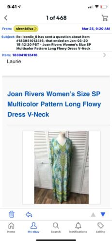 Joan Rivers Colorful Dress Reserved For N Jennifer