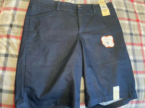 Womens Blue Dockers Truly Slimming Shorts Sz 12