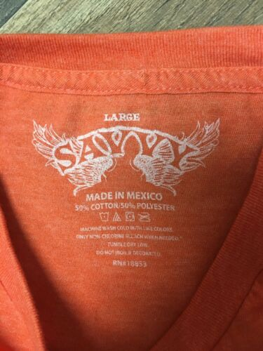 Reese's Graphic T-shirt Short Sleeves Orange With Logo Unisex Adult Size Large