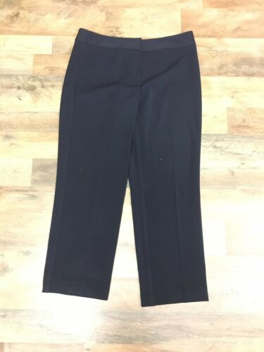 "Liz Claiborne Women's Size 35"" Waist Navy Blue Audra Dress Pants"
